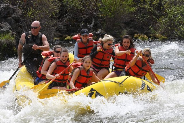 White Water Rafting at Seventh Mountain Resort