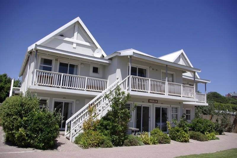 Exterior view of Cape St. Francis Resort.