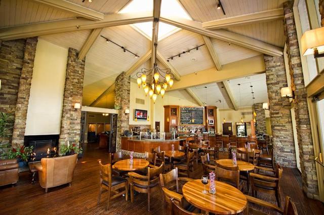 Restaurant at Pala Mesa Resort.