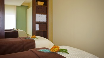 The spa at Hyatt Regency Trinidad.