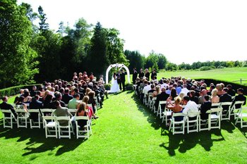 Outdoor Wedding at The Inn at Stonecliffe