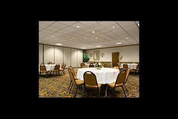 Banquet room at Days Inn Sidney.