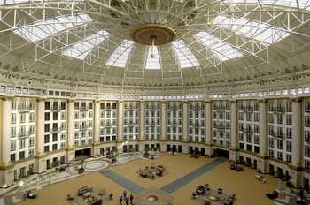 Interior of French Lick Resort.