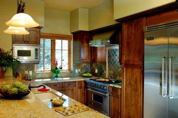 Lodge kitchen at Pronghorn Resort.