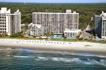 Exterior view of Long Bay Resort.