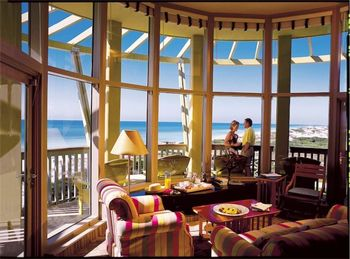 Condo Living Room at WaterColor Inn & Resort