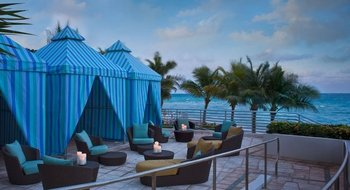Private Cabanas at The Westin Diplomat Resort