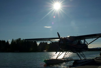 Sea Plane at FishMasters Inn