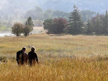 Hunting at South Fork Lodge.