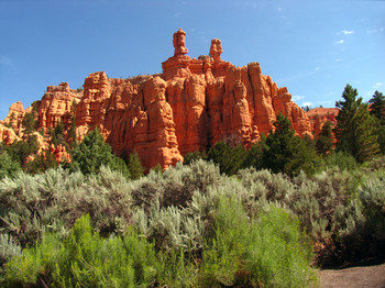 Bryce Canyon near The Best Western Abbey Inn Hotel.