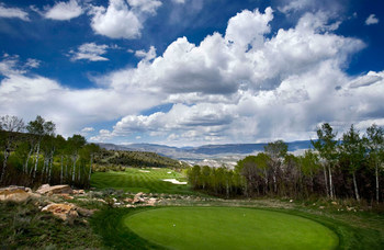 Golf course near Arrabelle at Vail Square.