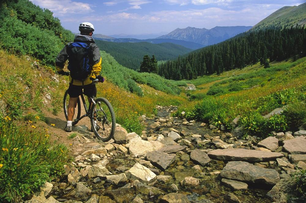 Biking at Valhalla Resort & Vacation.