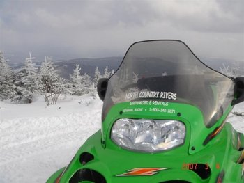 Snowmobiling at North Country Rivers