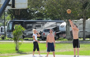 Basketball at Miami Everglades.