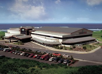 Chinook Winds Casino near Surfrider Resort.