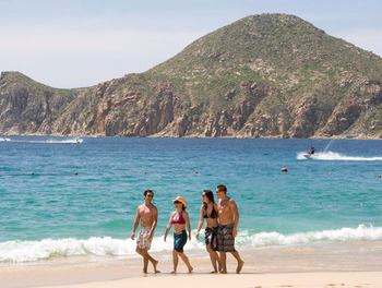 Walk Along the Beach at Pueblo Bonito Los Cabos