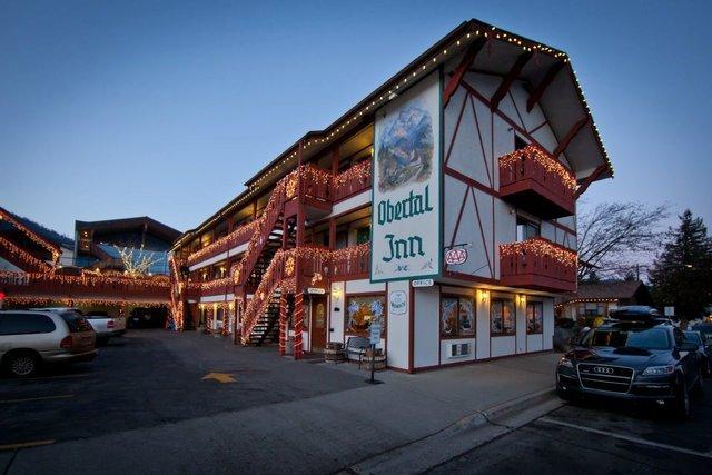 Exterior view of Obertal Inn.