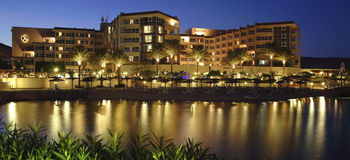 Exterior view of Hurghada Marriot Beach Resort.