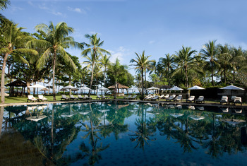 Outdoor pool at Bali Inter-Continental Resort.