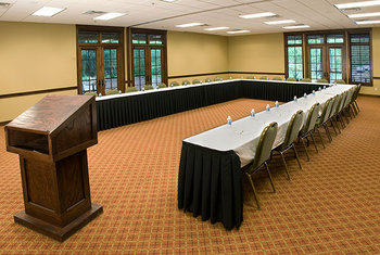 Conference and meeting rooms at Grand View Lodge.