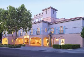 Exterior view of The Westin Palo Alto.