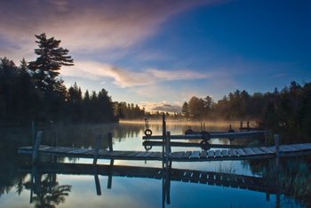 The Lake at Beaverland Camp