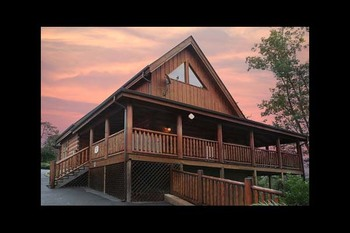 Cabin exterior at Eden Crest Vacation Rentals, Inc - Oh Yea!