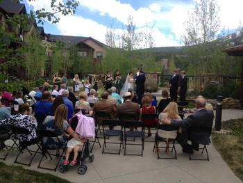 Wedding at Grand Timber Lodge.