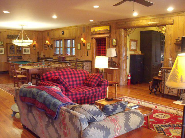 Rental interior at Lake Placid Accommodations.