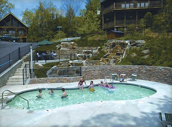 Outdoor Pool at Mountain Shadows Resort