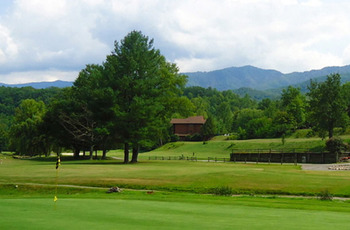 Bent Creek Golf Course near Elk Springs Resort.
