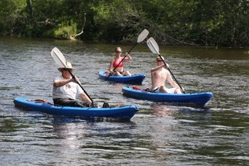 Kayaking at Heartwood Conference Center & Retreat.