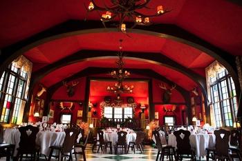 Dining at Grand Hotel.