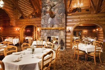 Tamarack Dining Room at Garland Lodge & Resort.