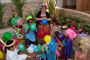 Children's activities at Quality Inn Oceanfront Ocean City.