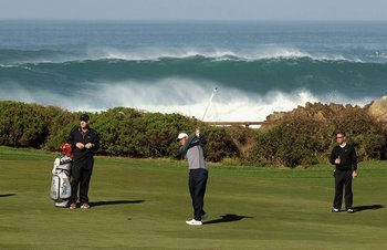 Professional golf near The Tradewinds at Carmel-by-the-Sea.