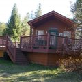 Cabin Exterior at Lake Five Resort 
