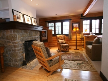 Interior of Lodge at The Hideout Lodge & Guest Ranch.