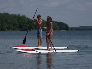 Paddlebaords at Bonnie Beach Resort