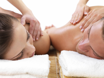 Spa treatments at Red Apple Inn and Country Club.
