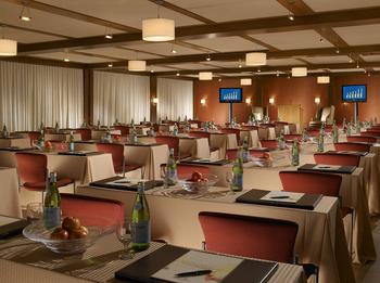 Meeting room at The Woodstock Inn & Resort.