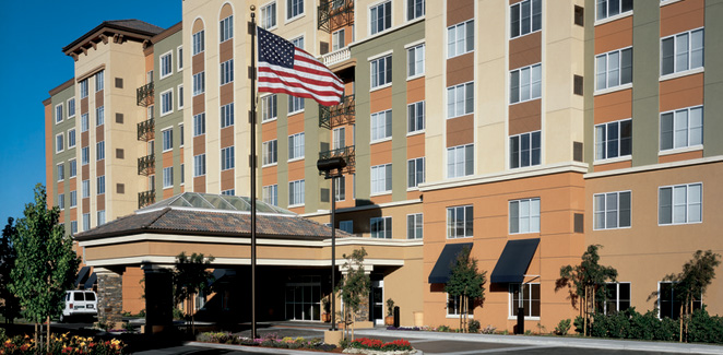 Exterior View of Hyatt House Santa Clara