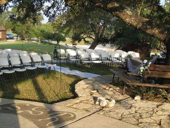 Wedding reception at Silver Spur Ranch.