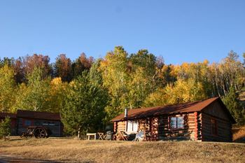 Exterior View of Cabin at The Sugar & Spice Ranch