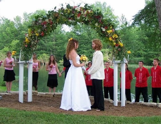 Outdoor Wedding Settings at Roddy Tree Ranch