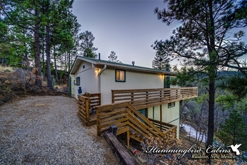 Exterior View of Hummingbird Cabins - Skyline Cabin Vacation Rental