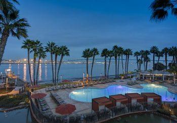 Outdoor pool at Coronado Island Marriott Resort.