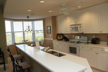 Vacation rental kitchen at Lahaina Island Accommodations.