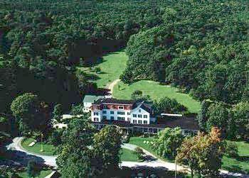 Aerial view of Winter Clove Inn.