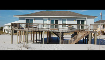 Rental exterior at Pensacola Beach Vacation Rentals & Sales.